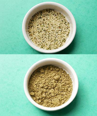 Différence entre les graines et les protéines de Chanvre