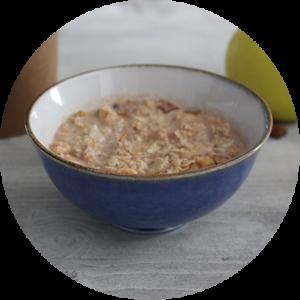 porridge pome cannelle