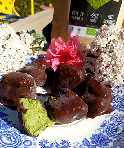 Bouchées d'Avocat au Moringa – Recette Crue – Vegan – Paleo