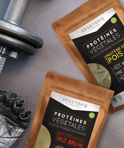 Protéines Vegan en poudre laquelle vous convient?