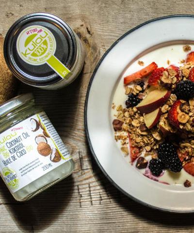 Granola à l'huile de Coco – Recette Vegan