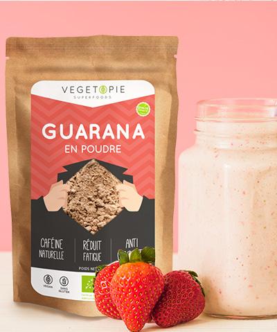 Guarana en poudre: Bienfaits, Vertus & Effets secondaires.
